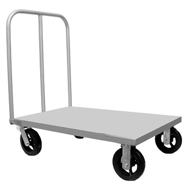 carro plataforma con ruedas
